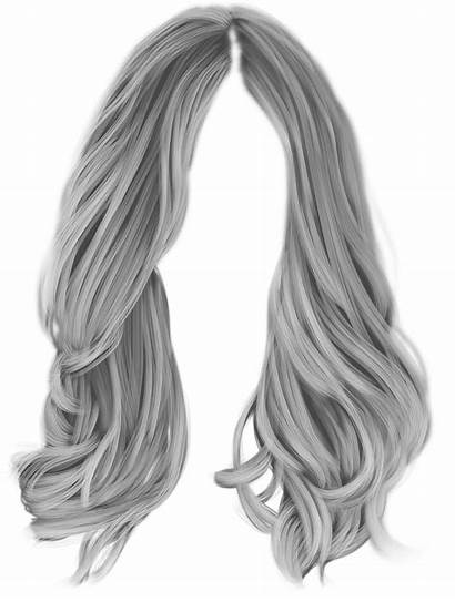 Wig Hair Clipart Transparent Coloring Cliparts Clip