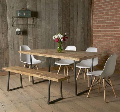 salle a manger rustique table salle 224 manger design rustique en 42 id 233 es originales