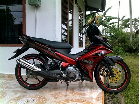 Modifikasi Jupiter Mx 2006 by Modifikasi Jupiter Mx Drag Look Thecitycyclist