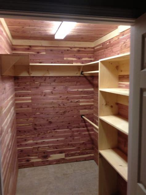 Wood Closet Shelving Ideas by Cedar Closet Traditional Closet Atlanta By A C J