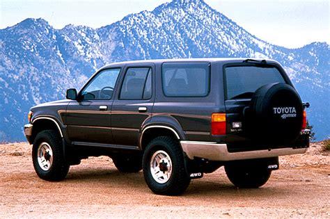 1990 Toyota 4runner by 1990 95 Toyota 4runner Consumer Guide Auto