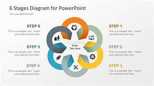 6 Stage Powerpoint Diagram