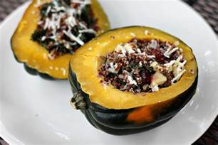 Quinoa Stuffed Acorn Squash Apples Recipe