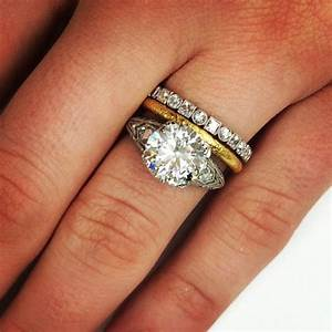 the perfect mixed metal stack instajewels pinterest With mixed metal engagement ring and wedding band