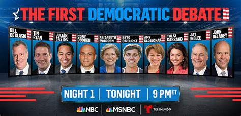 stream  tonights democratic debate