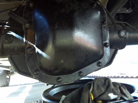 change rear differential fluids ranger forums