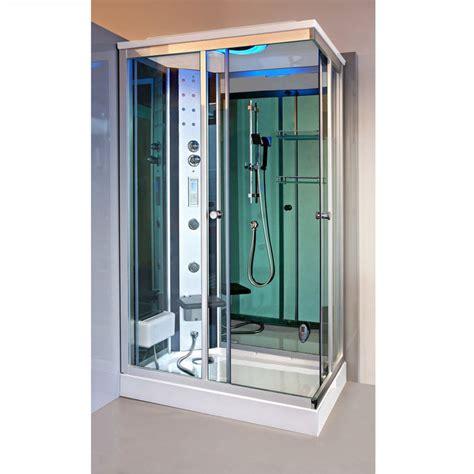 cabina doccia sauna bagno turco cabina idromassaggio 120x80 reversibile con sauna bagno