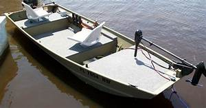 Gallery For  U0026gt  14 Ft Jon Boat Modifications