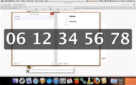 Mac Os X Et Les « Gros Caractères » Pour Le Téléphone