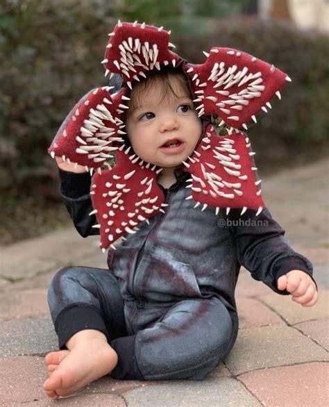 Baby Demogorgon | Stranger things halloween costume, Baby ...