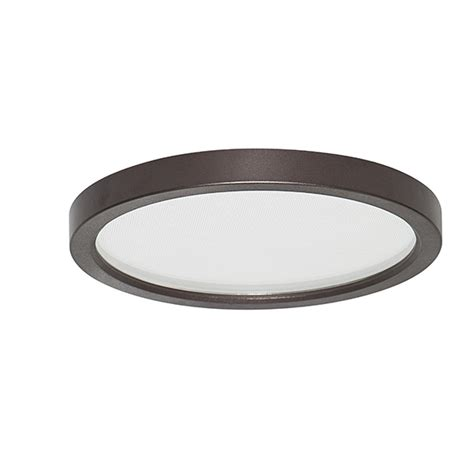 led surface mount disk light canarm led disk led sm55dl orb c 5 5 quot orb colour trim