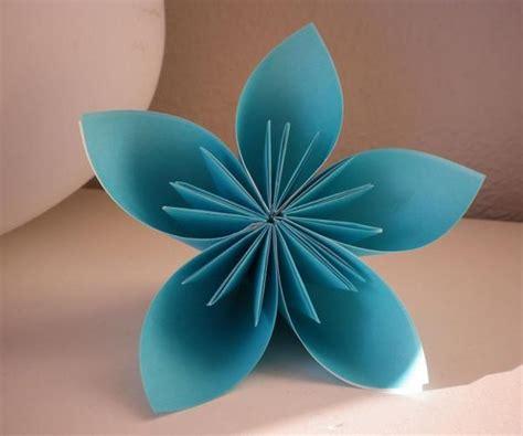 cuisine en cocotte comment faire une fleur à 5 pétales en origami 9 é