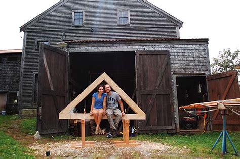 Tiny A Frame Homes Ideas by A Tiny Timber Framed House