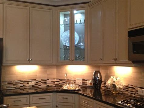 undermount lighting kitchen cabinets how to install mount lights on your hutch cabinets 6598