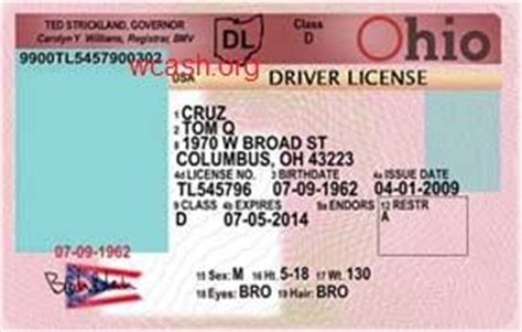 free drivers license template template ohio drivers license editable photoshop file psd driver license templates photoshop