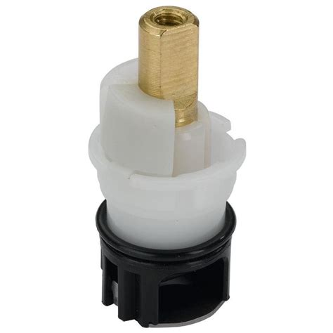 delta water faucet cartridge shop delta brass and plastic faucet stem at lowes