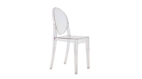 chaise ghost starck ghost chair chaise