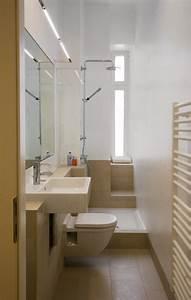 Ideen Für Badezimmer : ideen kleine bader schmales badezimmer dusche beige bodenfliesen fliesen pinterest ~ Sanjose-hotels-ca.com Haus und Dekorationen