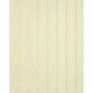Papier Peint Rayé : papier peint de bon go t ray edem 112 35 vert clair jaune safran mauve clair gris argent ~ Melissatoandfro.com Idées de Décoration