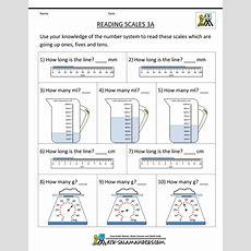 3rdgrademeasurementworksheetsreadingscales3agif 1,000×1,294 Pixels  3rd Grade Level Math