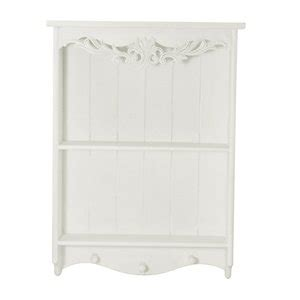 shabby chic kitchen wall cabinets shabby chic white wood wall shelves co uk 7909