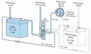 Victron Battery Monitor Bmv-702