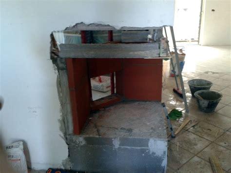 costruire un camino in muratura progetto di restauro casa con realizzazione camino