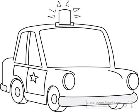 cartoon car black and white cars clipart police car cartoon 06 outline classroom