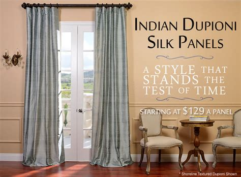 indian dupioni silk curtains traditional curtains by