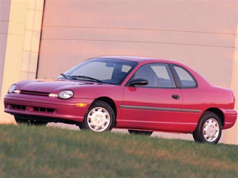 Are Dodge Neons Cars by 1999 Dodge Neon Reviews Specs And Prices Cars