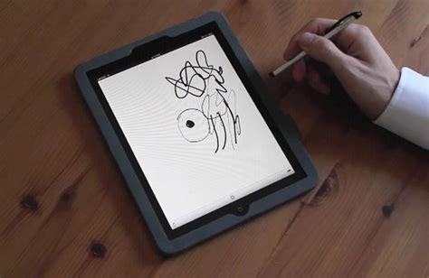 pressure sensitive drawing arriving   ipad geeky