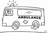 Coloring Ambulance Pages Emergency Vehicle Vehicles Sheets Printable Drawing Sketch Coloriage Outline Pompier Super Designs Truck Colouring Supercoloring Clipart Rescue sketch template