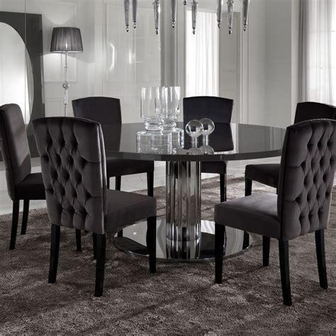 italian modern designer chrome  dining table