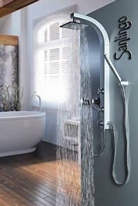 Duschpaneel Mit Massagedüsen : m bel24 silbeners duschpaneel duschs ule mit massaged sen von sanlingo m bel24 ~ Eleganceandgraceweddings.com Haus und Dekorationen