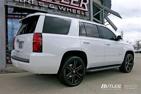 chevrolet tahoe   black rhino haka wheels