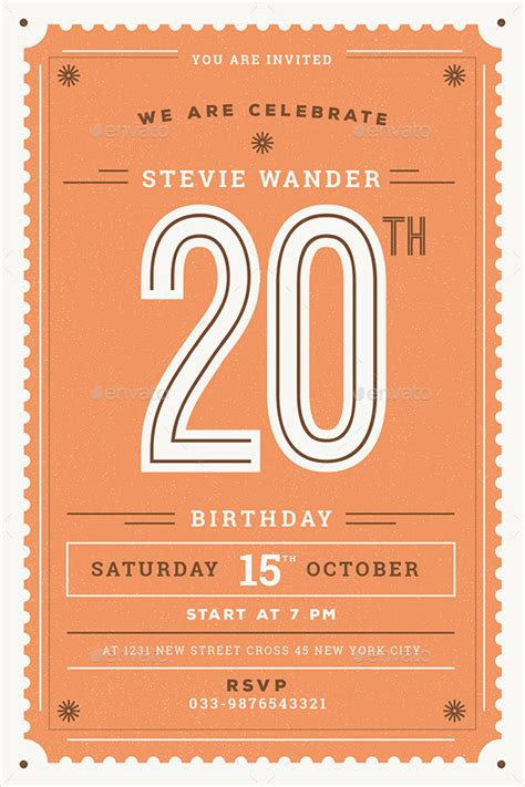 examples  birthday invitation designs psd ai