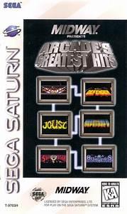 Williams Arcade's Greatest Hits Sega Saturn Game