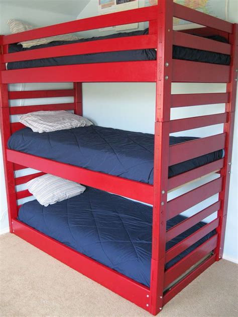 triple bunk beds bunk beds  stairs