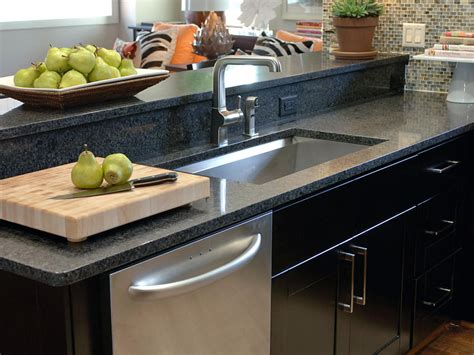 choosing the right kitchen countertops hgtv choosing the right kitchen sink and faucet hgtv