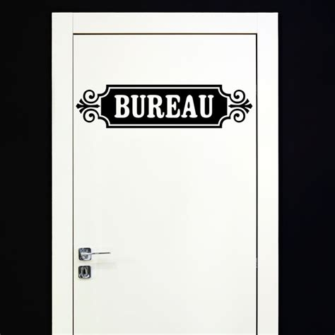 stickers pour bureau sticker porte bureau et arabesques stickers et