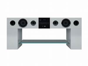 Meuble Tv Home Cinema Intégré : meuble tv home cin ma int gr avec syst me audio bluetooth ~ Melissatoandfro.com Idées de Décoration