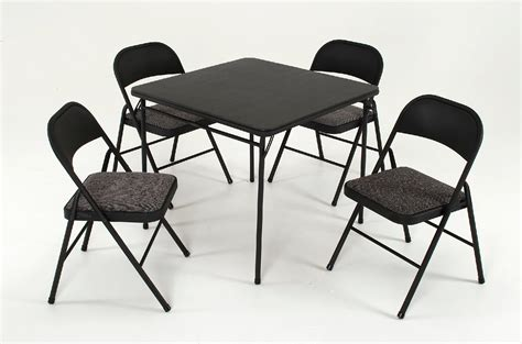cosco table and chairs cosco home and office products 5 piece set with vinyl