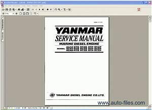 Yanmar Marine Diesel Engine 4lha Series  Repair Manuals