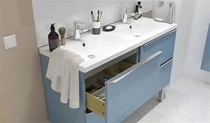 Credence Lavabo Salle De Bain : les meubles de rangement imandra parfaits pour toutes les salles de bains ~ Dode.kayakingforconservation.com Idées de Décoration