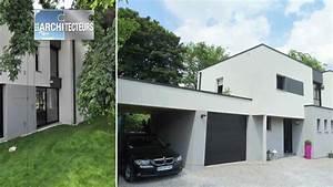 maison cubique contemporaine ventana blog With superior plan d une belle maison 2 photos architecte lille extension maison lille