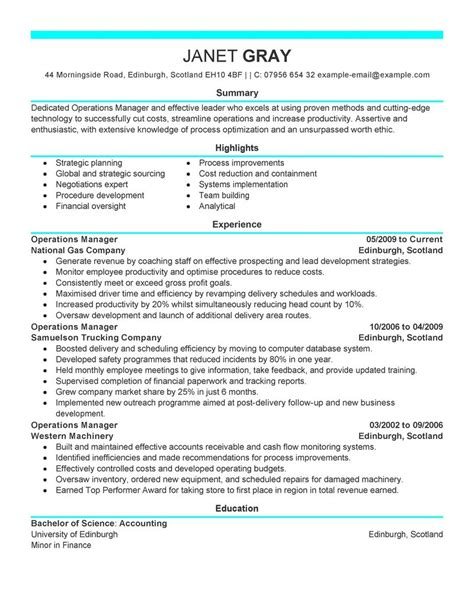 exles of resumes 19 reasons this is an excellent