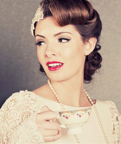 1950s Wedding Hairstyles 10 vintage wedding hair styles inspiration for a 1920s