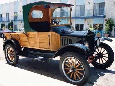 interesting  ford model   cab flare side