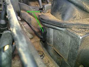 Broken Map Sensor Vacuum Line