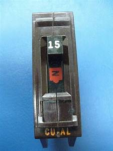 New - 15 Amp Wadsworth Breaker 1 Pole Type A